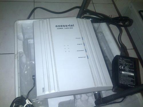 linea conexion modems axesstel