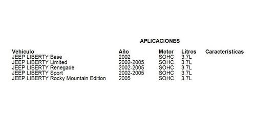 línea de descarga de a/c jeep liberty limited 2002-2005 3.7l