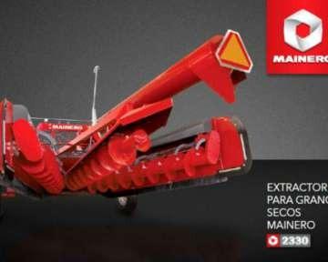 linea de extractora de granos mainero 2330
