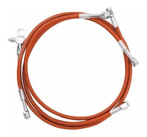 línea de freno delantera artic cat xc450 naranja streamline