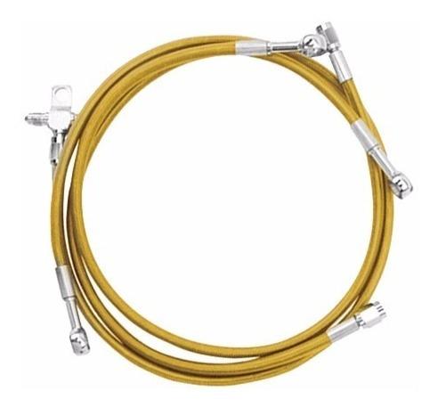 línea de freno trasera can-am ds450 amarilla streamline