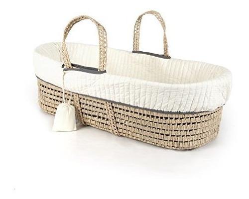 linea de los renacuajos cosidos moises cesta y juego de ropa