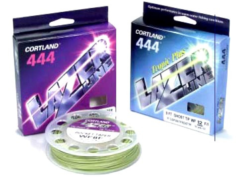 linea de pesca con mosca cortland 444 lazer line wf5f nueva