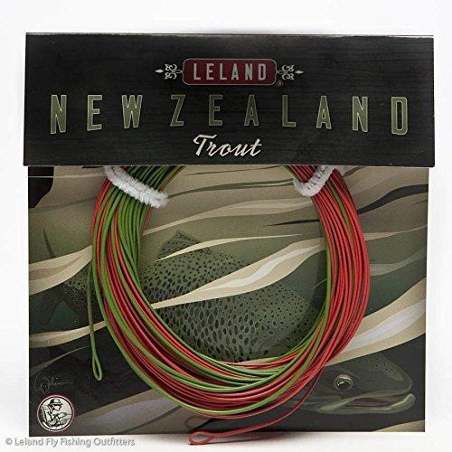 línea de pesca con mosca trout de leland, nueva zelanda, flo
