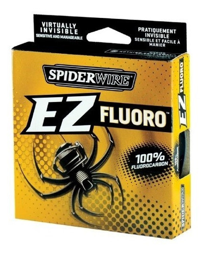 línea de pesca fluorocarbono: spiderwire ez fluor buho store