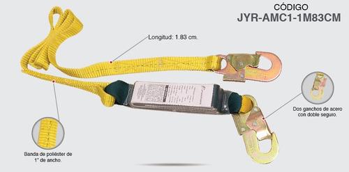 línea de vida de banda sencilla amortiguador alturas jyrsa