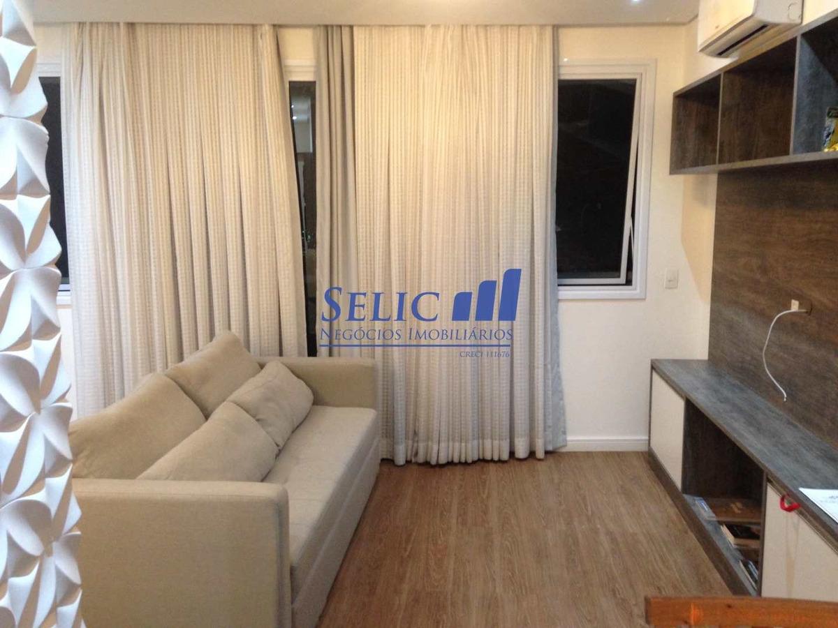 línea home style - flat mobiliado -  centro, jundiaí, cod: 126 - a126