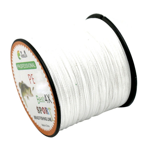 linea lb kg tension extra fuerte accion trenza pe blanco