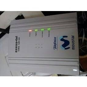 linea  para modem axesstel d800