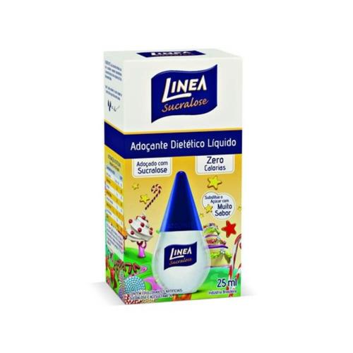 linea sucralose adoçante líquido 25ml