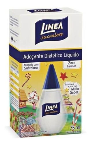 linea sucralose adoçante líquido 75ml