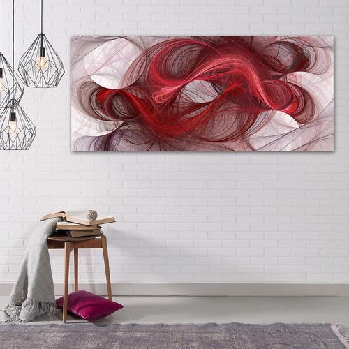 lineas curvas gde abstracto, cuadro decorativo en canvas