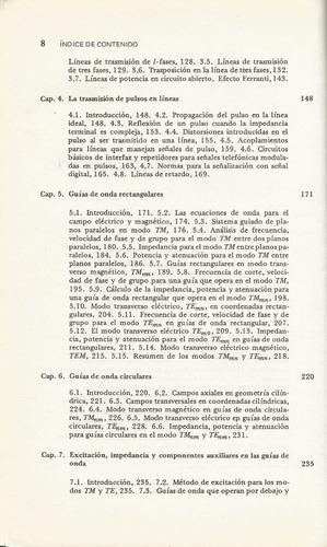 lineas de transmisión, ondas y fibras ópticas. m.  salmeron
