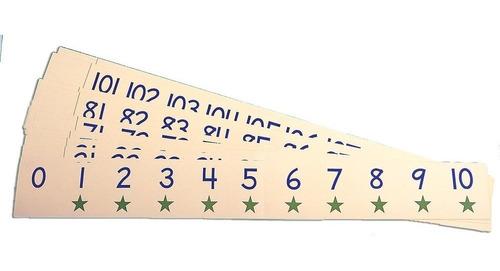 líneas numéricas carson dellosa ideal para el au - 17 vrds
