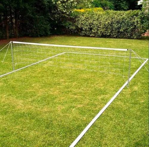 lineas p/ cancha futbol tenis modelo 10 x 5 mt  servicegym