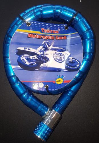 linga cadena para moto bicicleta candado 1,5 metros nordelta