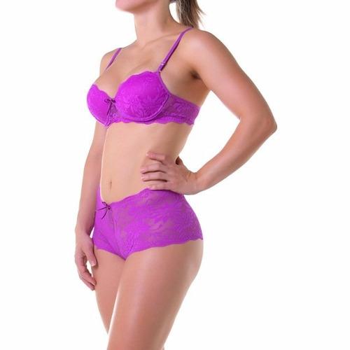 lingerie 3 peças calcinha sutian, conjuntos, revenda atacado
