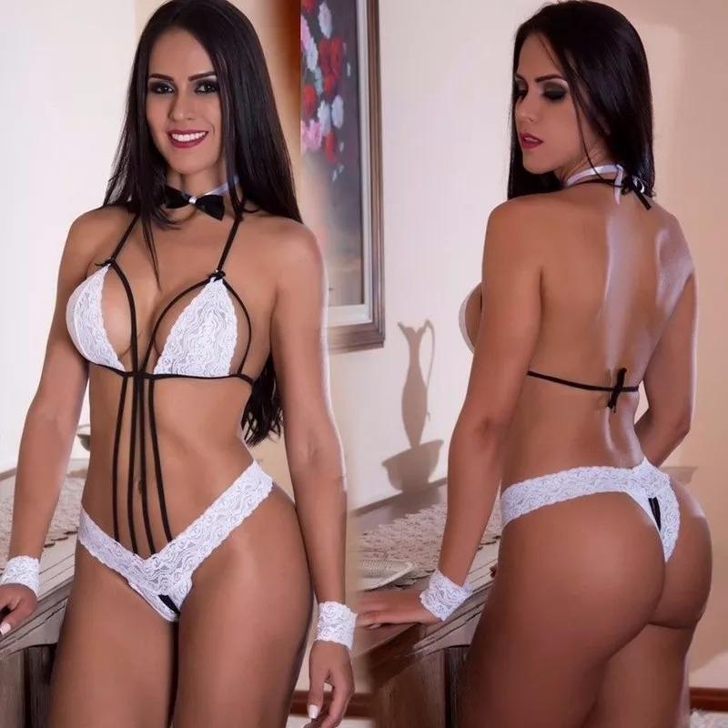1f2a42cb1 lingerie body sensual de luxo branca sexy garçonete balada. Carregando zoom.