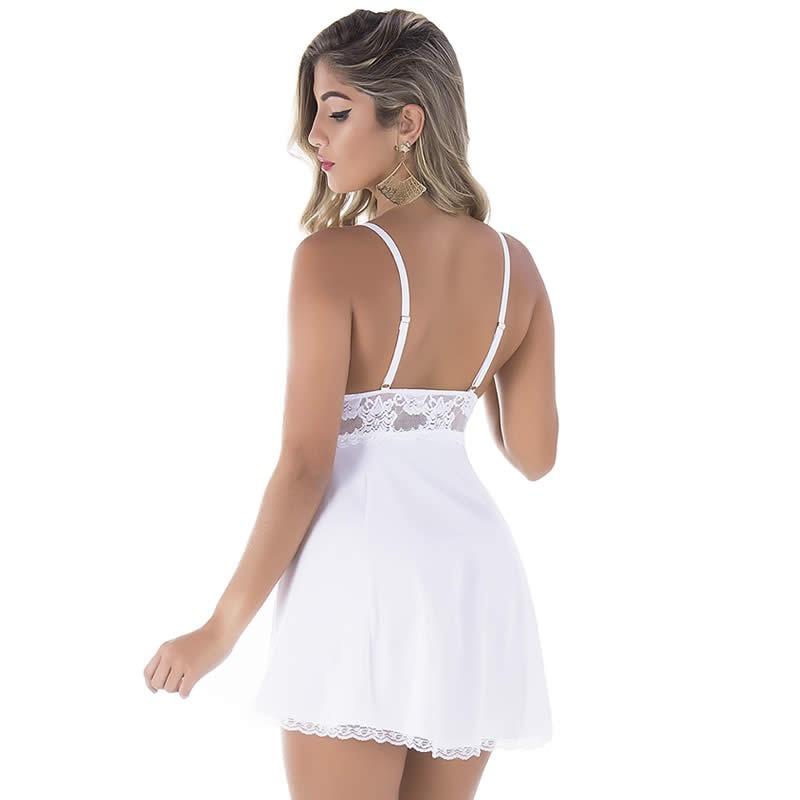 lingerie branca camisola noiva lua de mel - pronta entrega. Carregando zoom. ece7d27dc1e