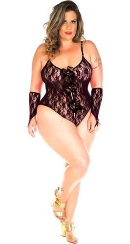 lingerie calcinha plus size body sensual camisola atacado