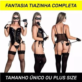 089435dca Fantasia Linda Feminina Capetinha no Mercado Livre Brasil