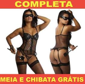 4fbad0a63 Espartilhos Completos Preto no Mercado Livre Brasil