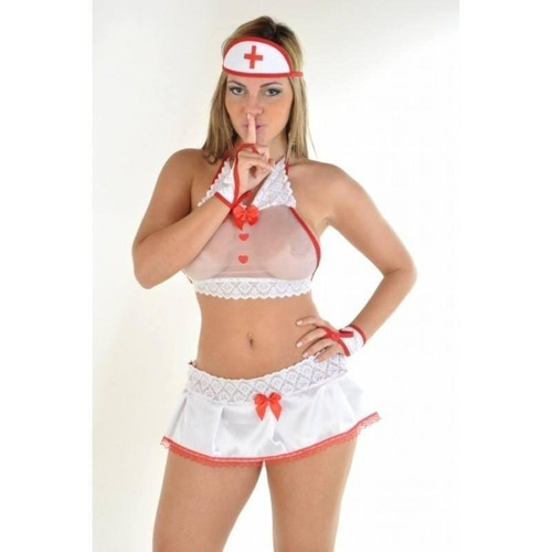 lingerie gg fantasia enfermeira safada gg lingerie sensual