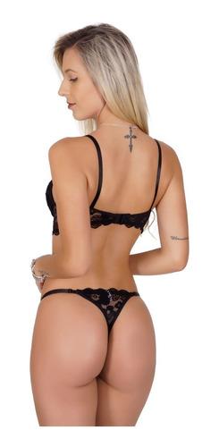 lingerie luxo atacado kit c/ 10 conjuntos lingerie atacado