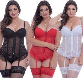 0105624de Espartilho Branco Plus Size - Moda Íntima e Lingerie no Mercado Livre Brasil