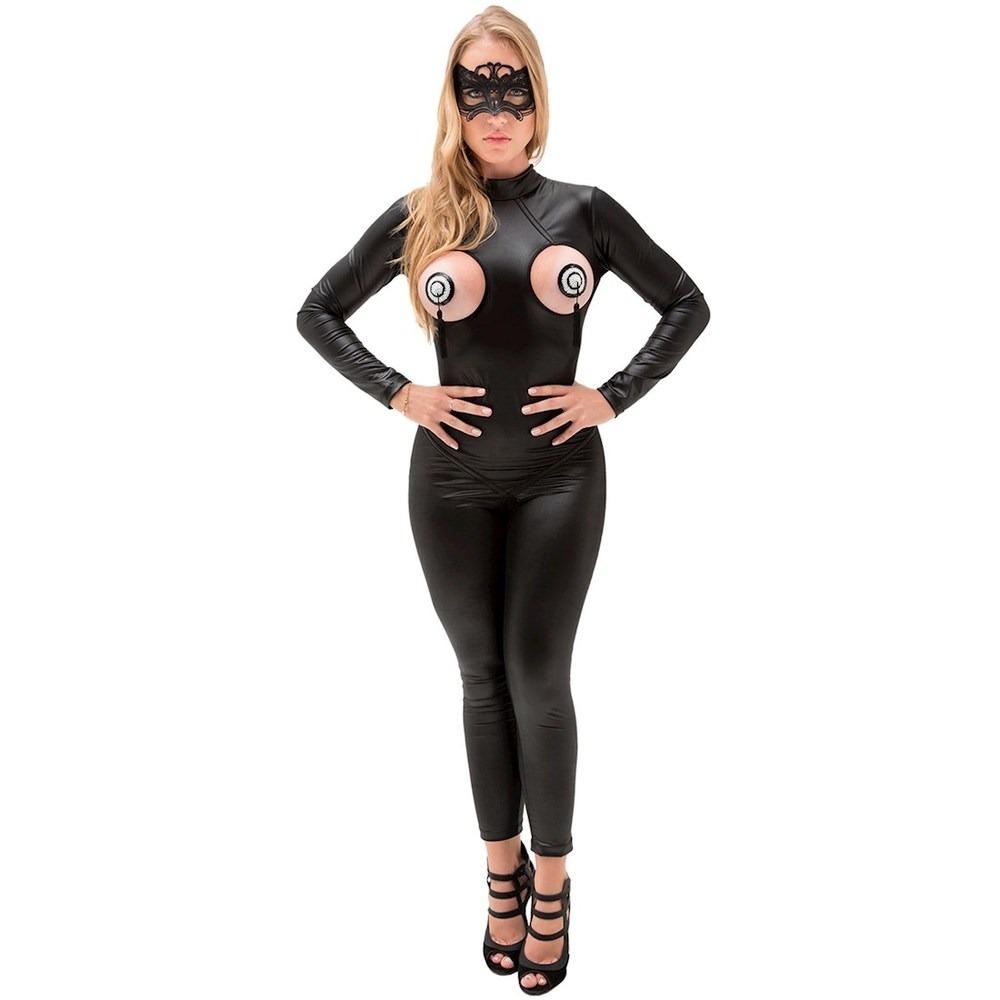 6382087c9 lingerie macacão fantasia mulher gato caliope frete grátis. Carregando zoom.