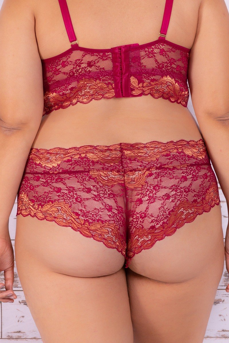 0b300d096 lingerie sabrina plus size. Carregando zoom.
