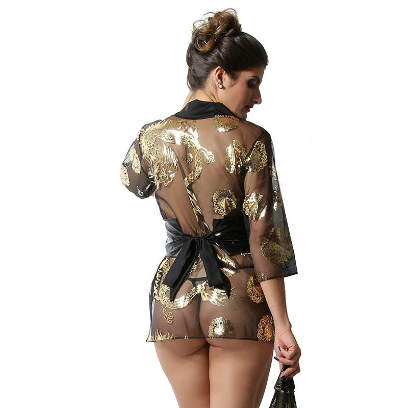 212403fdf lingerie sex fantasia gueixa moda intima kit c 2 uma de cada. Carregando  zoom.
