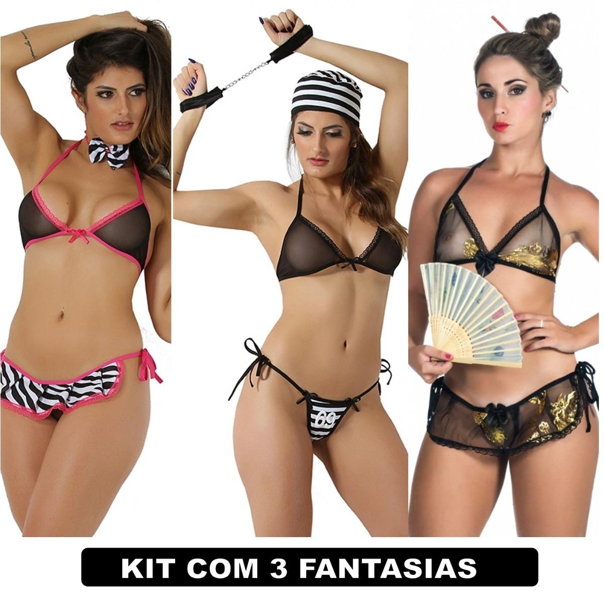 a922edf5e lingeries sex kit com 3 uni eroticas sexy fantasias barato. Carregando zoom.