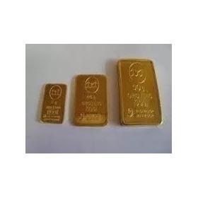 Lingote De  Oro 10 Gramos Banco Ciudad 24 Kt