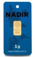 lingote de oro 1 gramo de 24 kilates oro fino haremaltin