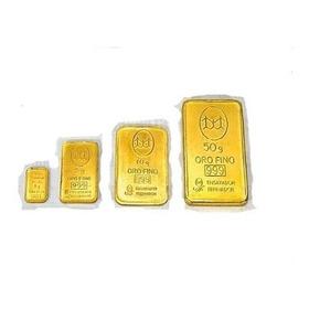 Lingote Oro 10 Gramos Banco Ciudad 24 Kt