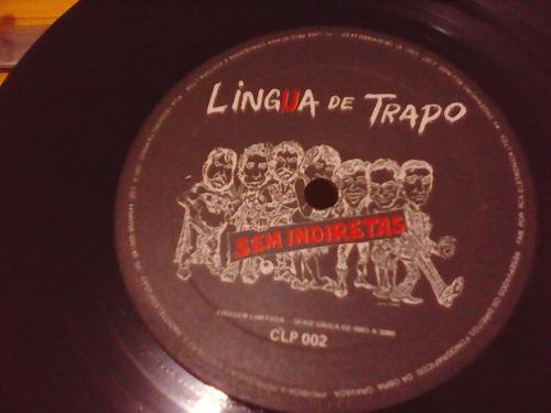 lingua de trapo - sem indiretas ao vivo - compacto