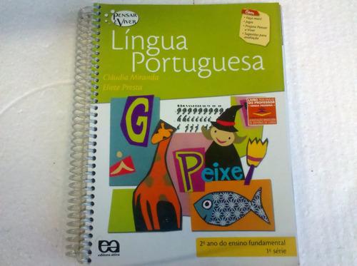 língua portuguesa 2º ano ef/ 1º série pensar e viver.  ática