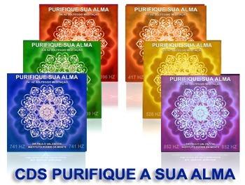 linha de cds purifique a sua alma - sollfeggios 396 a 852 hz