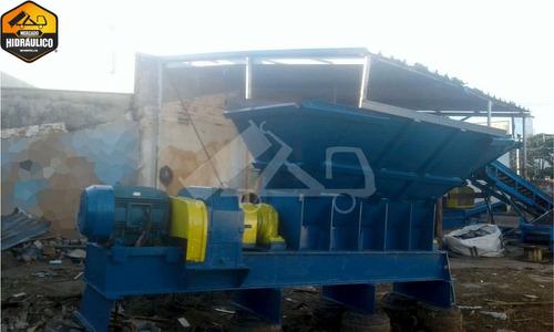 linha de reciclagem - helomaq