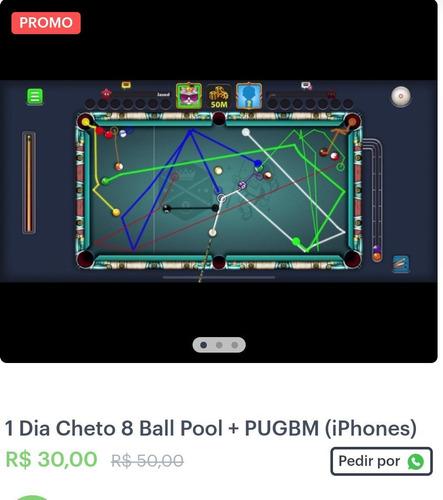 linha infinita rack 8 ball pool iphone e android