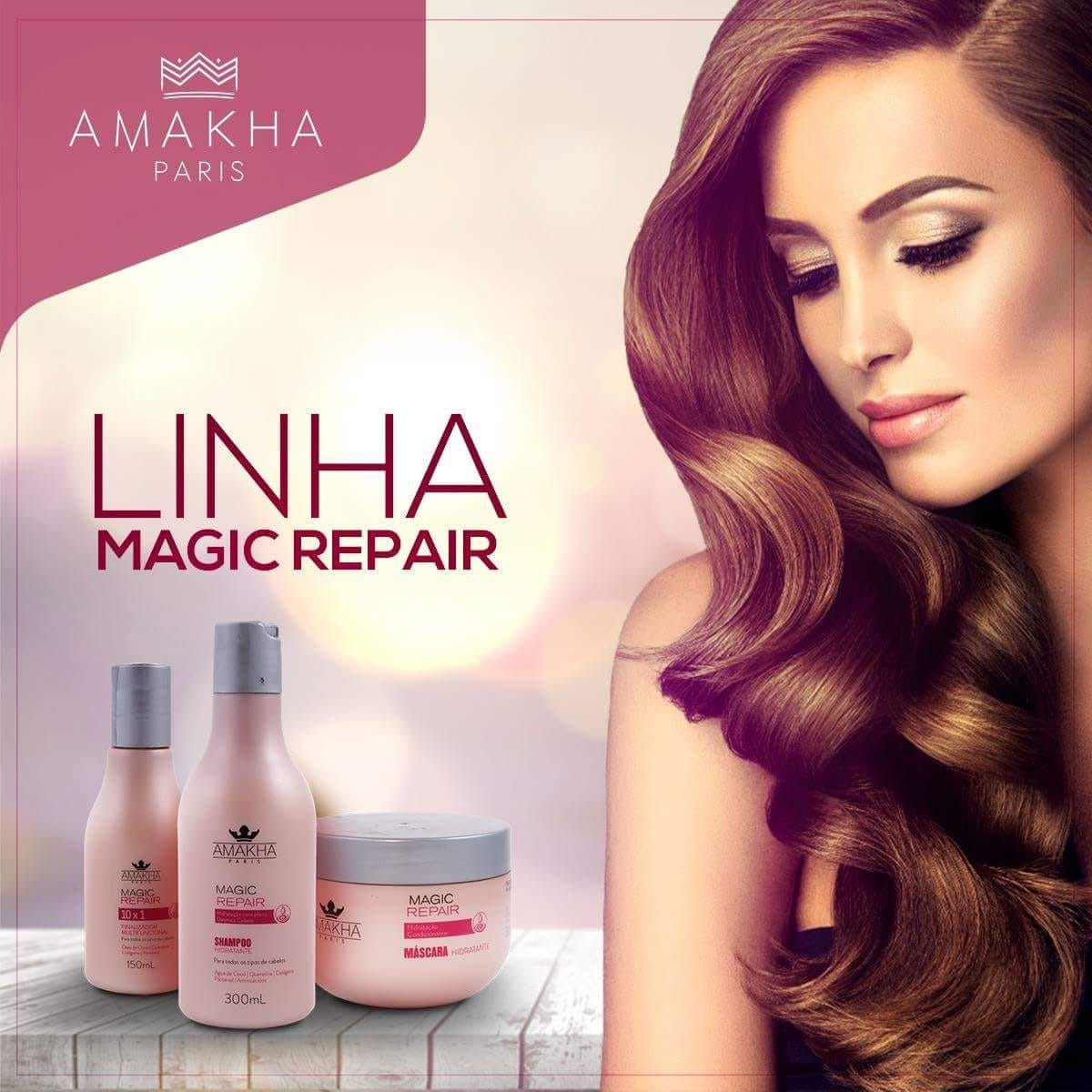 c5018f703 Linha Magic Repair Amakha Paris. - R$ 210,00 em Mercado Livre
