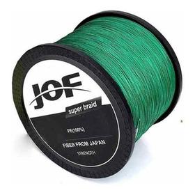 Linha Multifilamento 500m  8 Fios 0.50mm 100lb 45.36kg Verde