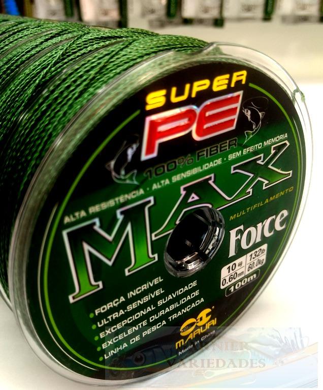 2f442e9261 Linha Multifilamento Maruri Max Force Pe 0