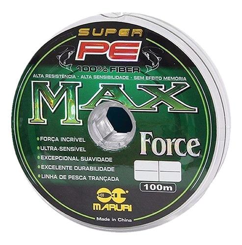 linha multifilamento pesca pesada 026 030 035 040 max force