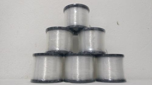 linha pesca nylon  deyu - foison 0,35mm 250g