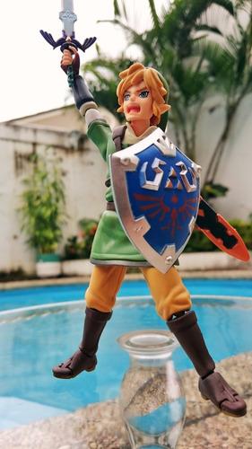 link figma legend of zelda figura 14cm /100% nueva en caja
