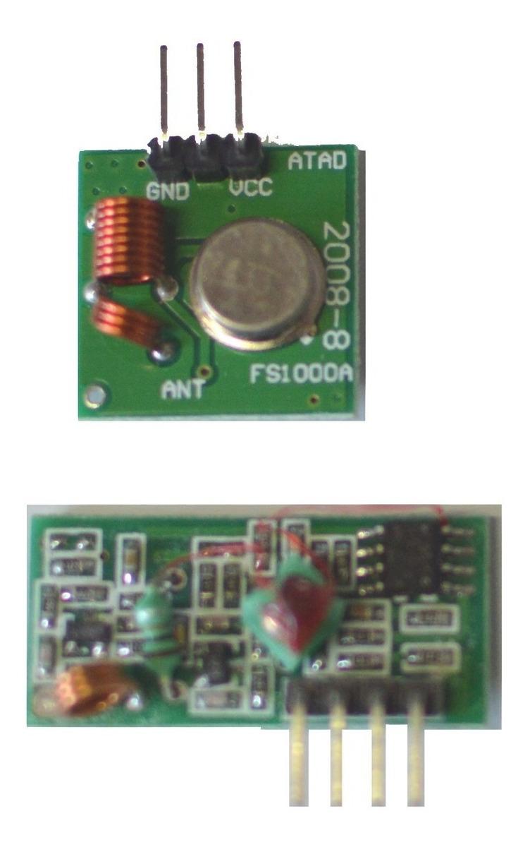 Link Rf Tx Rx 433 Fs1000a Arduino Armodl433multra