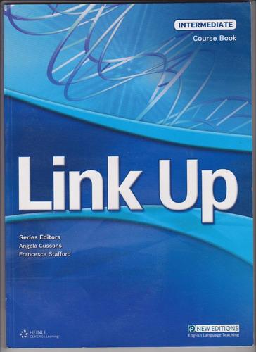 link up intermediate course book. ¡¡oferta!! nuevo 2 cd