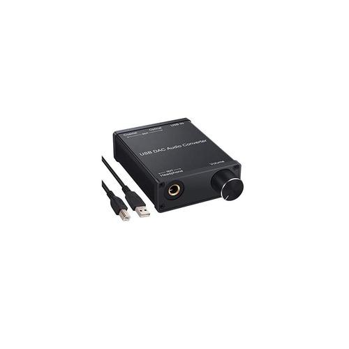 linkfor usb dac de audio convertidor usb a la tarjeta de son